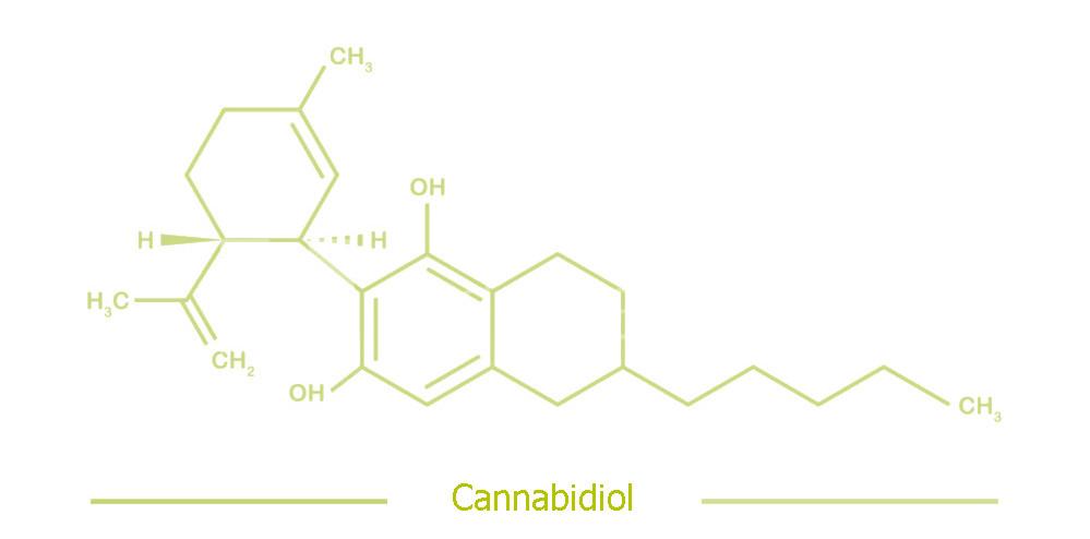 molecula cbd